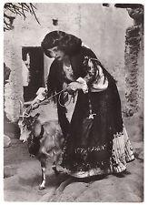 Oliena Nuoro Cartolina d'epoca viaggiata con francobollo Old Postcard