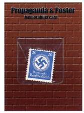 Military Propaganda & Posters. German Nazi Stamp Memorabilia Card #M1 Cult Stuff