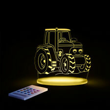 Sleepy Lights Tractor Multi-Coloured LED Night Light With Remote Control