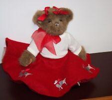 Bearington Bear's Betty Bop, Red Poodle Skirt, White Knit Sweater, Saddle Shoes