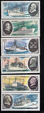 Russia 1979 Research ships Academy of Science 5 stamps  MNH