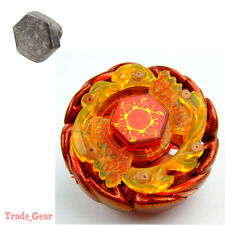 Sol (Solar) Blaze Ultimate-Type BB89 Master Fight Beyblade+HEAVY METAL FACE BOLT