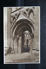 Glastonbury Abbey, Somerset - Vintage RP Postcard- Walter Scott- Unposted