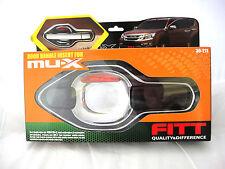 CHROME FITT CHROME 4 DOOR HANDLE BOWL INSERT COVER TRIM NEW ISUZU MU-X 2014 SUV