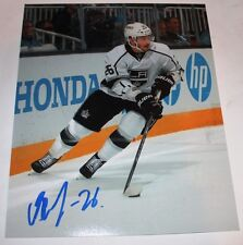 Slava Voynov signed 8x10 photo Los Angeles Kings COA