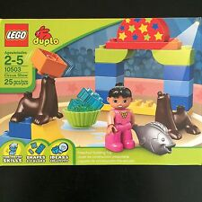 Baby New Lego Duplo 10503 Circus Show Unopened Building Blocks Ages 2-5
