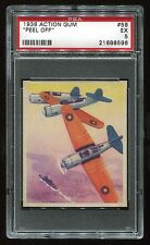 1938 Action Gum #56 Peel Off PSA 5 EX Cert #21698596