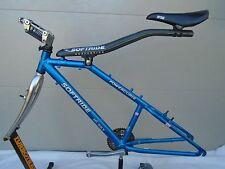 Softride Husky Full Suspension Mountain Bike Frameset, 17-inch, Blue, 26-inch