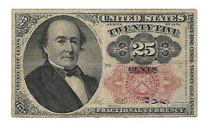 US - 25 Cents Fractional Note - Series 1874 - XF condition