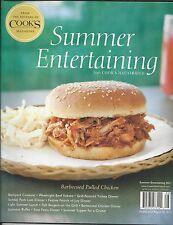 Cooks Summer Entertaining magazine BBQ pulled chicken Backyard cookout dinner