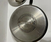 Farberware 2 Qt 18/10 Stainless Steel Sauce Pan Pot Impact Bonded With Lid