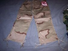 Womens Capri Pants Desert Camo Pants Camo Capris Camo Pants 13-14 Retail 33.99