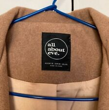 All about eve camel brown coat. In great used condition size 10