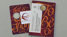 coffret folder 2 euro SAINT MARIN San Marino 2016 400 mort SHAKESPEARE William