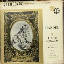 """HANDEL-Flute Sonates–Box Set 2 x 12"""" LP-Stereovox-SVUX 52021"""