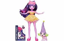 My Little Pony Equestria Girls Rainbow Rocks Doll Twighlight Sparkle with Pet