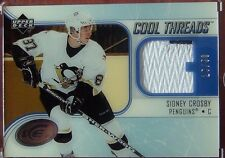 2005-06 ICE COOL THREADS PATCH SIDNEY CROSBY #25/50 2 COLORS FROM RC YEAR