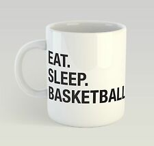 Eat Sleep Basketball Mug Funny Birthday Novelty Gift Sport