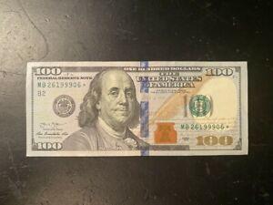 2013 $100 One Hundred Dollar Bill *Star Note*