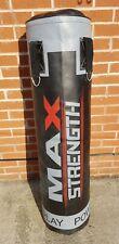 Boxing punch kick bag 4ft black good quality material