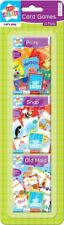 3 x Kids Multi Pack Card Games Snap Pairs Old Maid Fun Gift Play Toddler Young