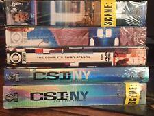 CSI: NY - Seasons 1-5 (DVD, 2009, 32-Disc Set) New