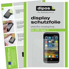1x dipos ZTE Open C Film de protection d'écran protecteur antireflet