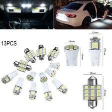 13x Bombillas 5/8/12 LED T10 W5W SMD Luz Blanca Xenon Coche Interior Posicion
