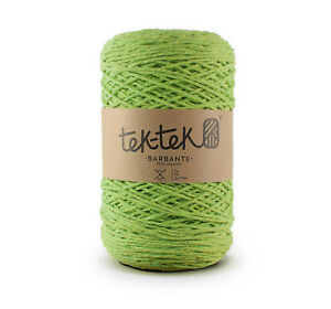 Crafting Cotton 6ply APPLE GREEN New Cotton Knit Crochet Weave 220m washable