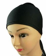 Under scarf Bonnet Bone Tie Back chimio Cap Hijab Head Hair Loss a