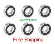 6 New Mower Spindle Bearings Replaces Toro 109966