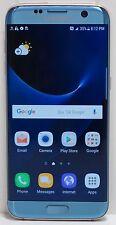 """Samsung Galaxy S7 Edge 32GB (AT&T) 5.5"""" SM-G935A Blue Coral"""