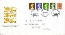 1984 Definitive 13p - 34p  First Day Cover