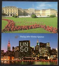 United Nations 2 x complete booklets WS10759