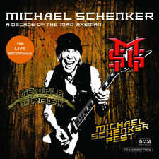 Michael Schenker : A Decade of the Mad Axeman: The Live Recordings VINYL 12""