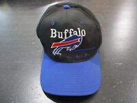 VINTAGE Buffalo Bills Snap Back Hat Cap Blue Red NFL Football Adjustable 90s