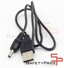 CABLE USB CARGADOR TABLET ANDROID Negro  MP3 3.5MM 5V 2A ALIMENTACIÓN DC 1M SP
