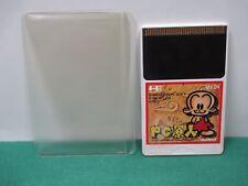 PCE HuCARD -- PC Genjin Bonk's Adventure HuCARD only -- JAPAN. GAME. Work. 11106