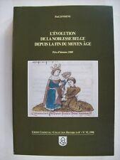 histoire généalogie noblesse belge héraldique Belgique belgische adel