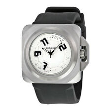 Converse Overtime White Dial Black Silicone Strap Quartz Mens Watch VR-018-090