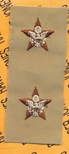 US Army General Staff GS Branch Desert DCU sew on patch set