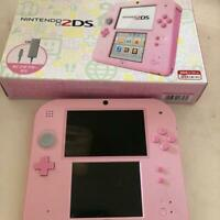Nintendo 2DS console Pink Japanese