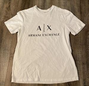 Armani Exchange Slim T-shirt Pima Cotton Tee White XS