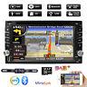 """6.2"""" Double 2 Din In Dash Car CD DVD Player Radio Stereo GPS NAV SAT Rear Camera"""