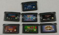 Gameboy Advance Videogames 7 Games Used Spiderman Dragonball Z FREE SHIPPING