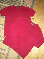 LAURA ASHLEY TWIN-SET, SIZE MEDIUM, CASHMERE MIX, WORN ONCE, RICH PLUM COLOUR