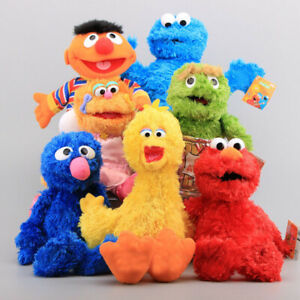 Sesame Street Elmo Living Hand Puppet Stuffed Plush Play Games Doll Toy Kid Gift