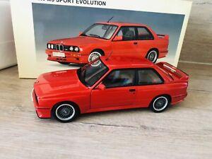 Bmw E30 M3 Sport Evolution 70561 AUTOart 1/18 Red