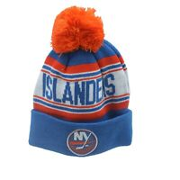 New York Islanders NHL Reebok Youth Boys (8-20) Cuffed Pom Knit Winter Beanie