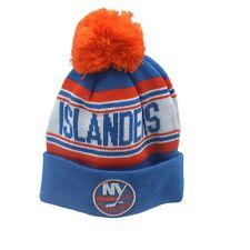 New York Islanders Nhl Reebok Youth Boys (8-20) Cuffed Pom Knit Winter Beanie